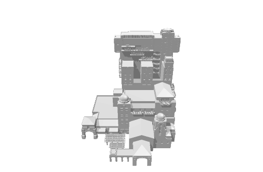 HTH_170520_132558.png Download OBJ file Tower of Terror Disneyland Paris • Template to 3D print, MarcusB
