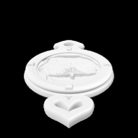 Download STL file Keyring Lithophane of Boobs • 3D print object, MarcusB