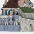 Terrasse.png Download free STL file Chateau Disneyland Paris with Prusa MK2S MMU (Ed2) • 3D print model, Rio31
