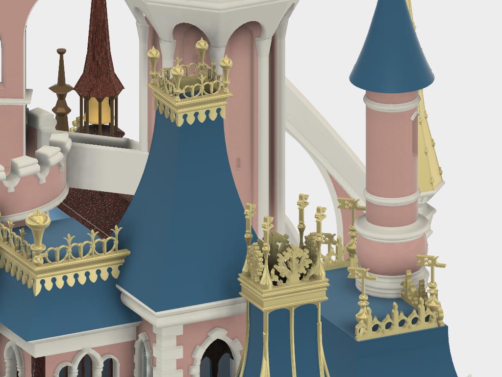 Details_2.png Download free STL file Chateau Disneyland Paris with Prusa MK2S MMU (Ed2) • 3D print model, Rio31