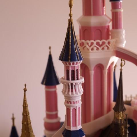 _A097908.JPG Download free STL file Chateau Disneyland Paris with Prusa MK2S MMU (Ed2) • 3D print model, Rio31