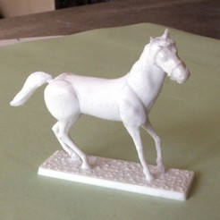 3D printer files Napoleonic figures 40mm Horse at rest (4), Rio31