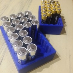 Free STL Battery storage box, Rio31