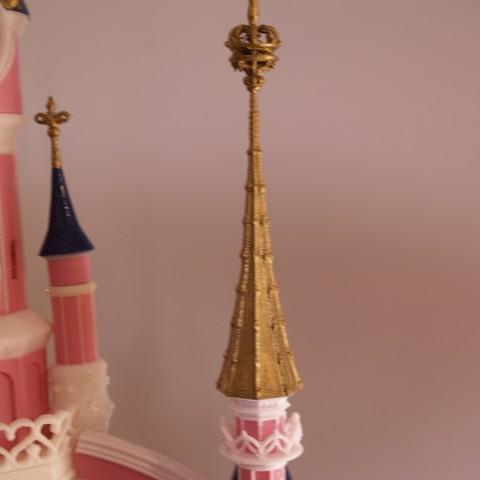 _A097916.JPG Download free STL file Chateau Disneyland Paris with Prusa MK2S MMU (Ed2) • 3D print model, Rio31