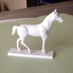 3D printing model Napoleonic figures 40mm Horse at rest (3), Rio31