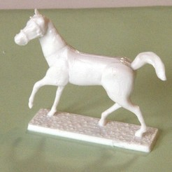 STL files Napoleonic figures 40mm Horse in trot (3), Rio31