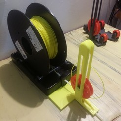 Download free 3D printer templates Prusa Compact MMU2 filament buffer, Rio31