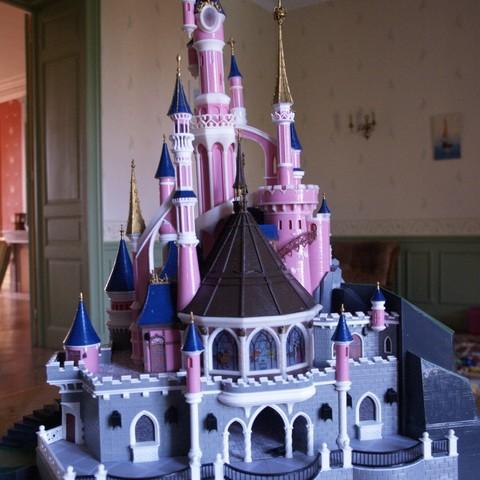 _3058322.JPG Download free STL file Chateau Disneyland Paris with Prusa MK2S MMU (Ed2) • 3D print model, Rio31