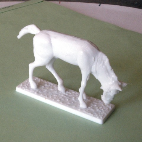 3D printer files Napoleonic figures 40mm Horse with water trough, Rio31