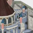 Details_5.png Download free STL file Chateau Disneyland Paris with Prusa MK2S MMU (Ed2) • 3D print model, Rio31