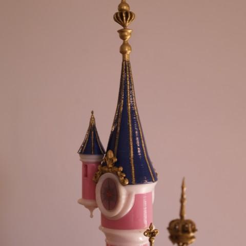 _A097906.JPG Download free STL file Chateau Disneyland Paris with Prusa MK2S MMU (Ed2) • 3D print model, Rio31