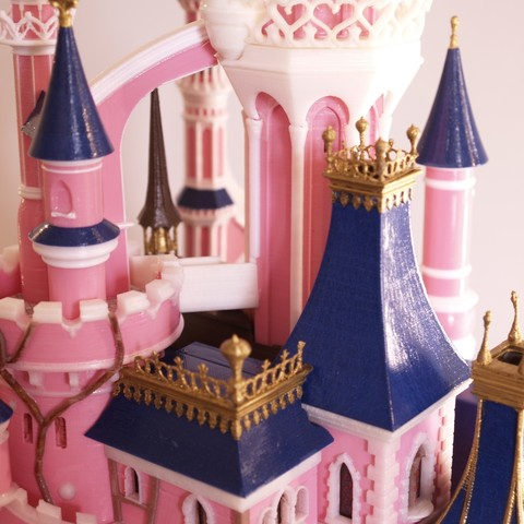 _A097912.JPG Download free STL file Chateau Disneyland Paris with Prusa MK2S MMU (Ed2) • 3D print model, Rio31