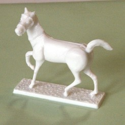 3D printer files Napoleonic figures 40mm Horse in step (4), Rio31