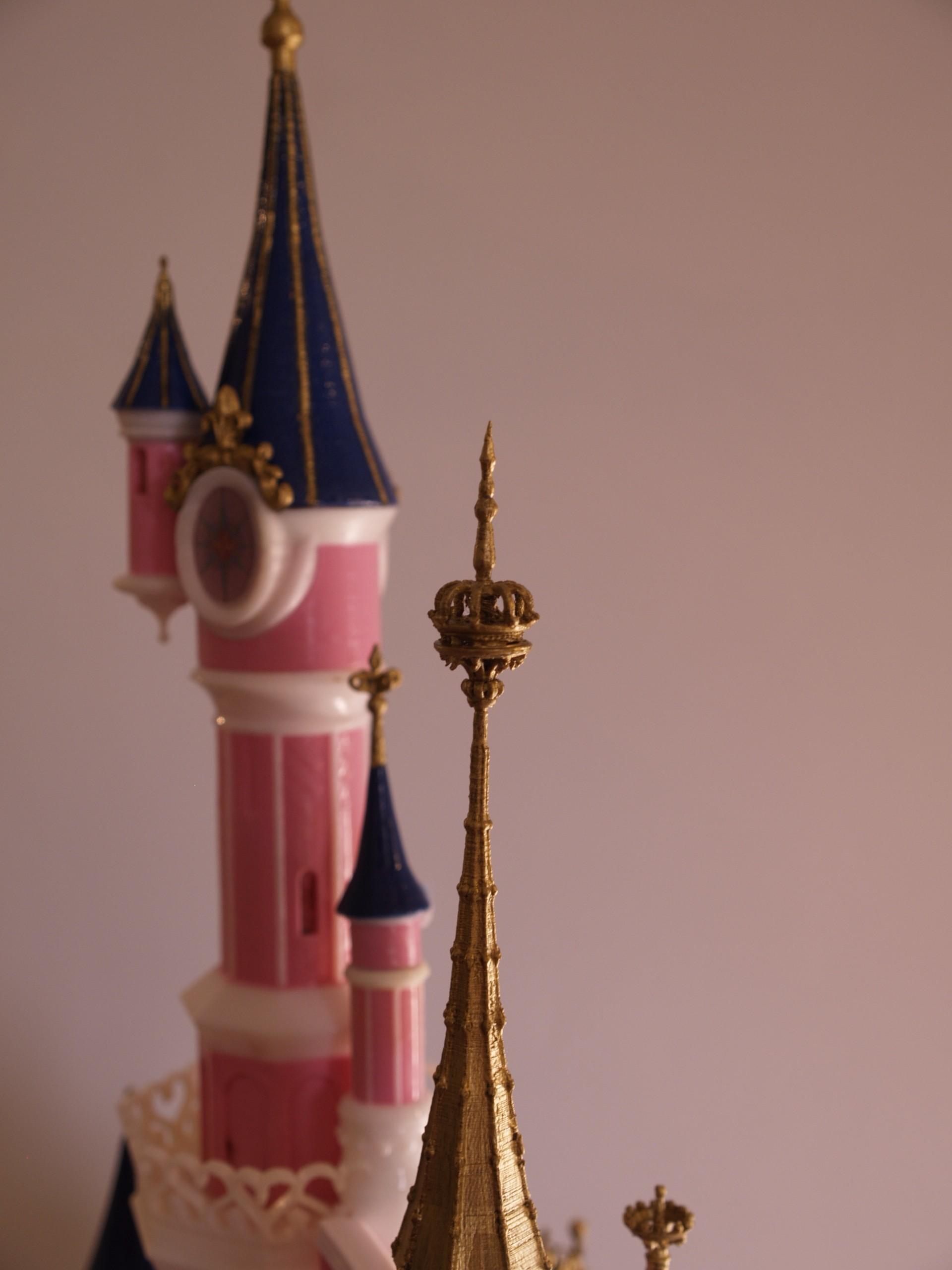 _A097907.JPG Download free STL file Chateau Disneyland Paris with Prusa MK2S MMU (Ed2) • 3D print model, Rio31