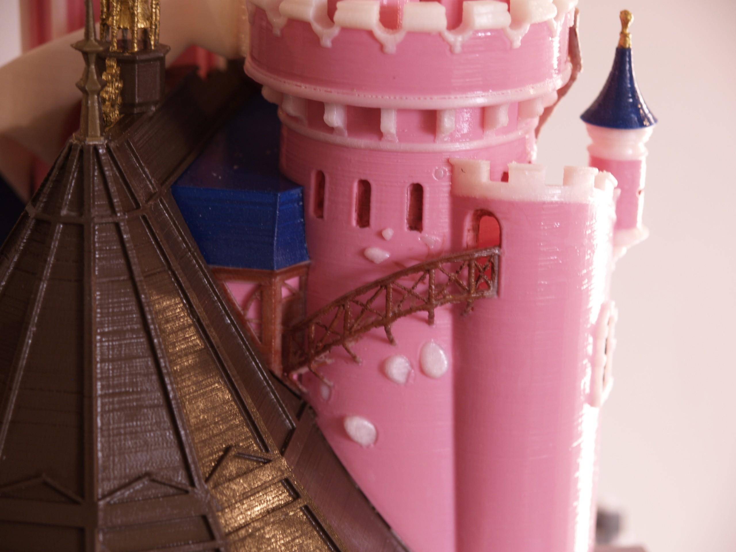 _A097910.JPG Download free STL file Chateau Disneyland Paris with Prusa MK2S MMU (Ed2) • 3D print model, Rio31