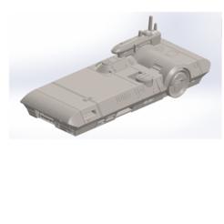 Download 3D printing templates Spacecraft No. 1, Rio31
