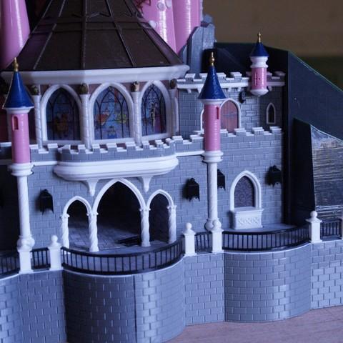 _3058323.JPG Download free STL file Chateau Disneyland Paris with Prusa MK2S MMU (Ed2) • 3D print model, Rio31