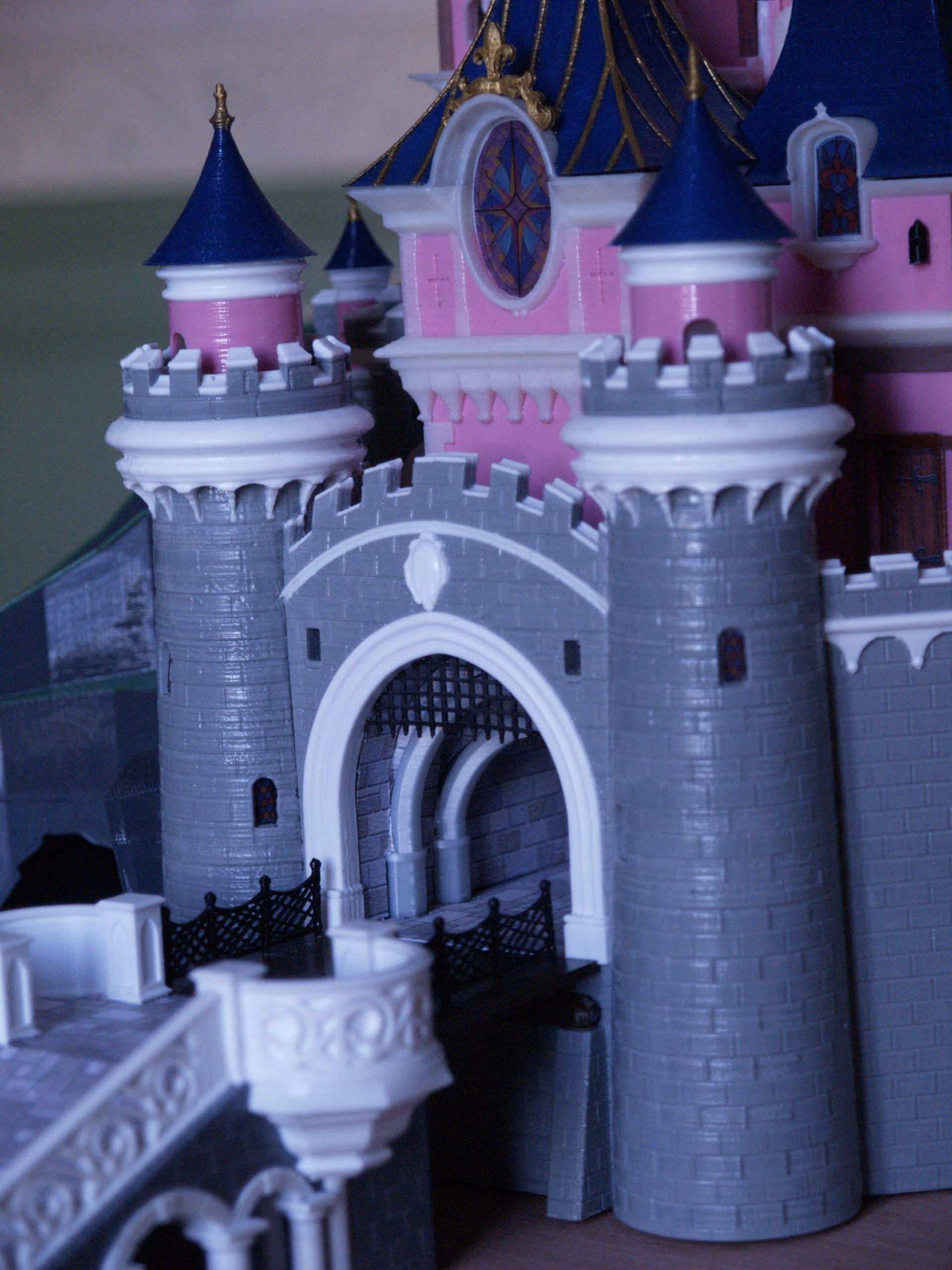 _3058320.JPG Download free STL file Chateau Disneyland Paris with Prusa MK2S MMU (Ed2) • 3D print model, Rio31
