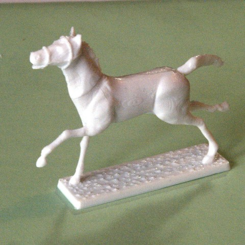 3D printing model Napoleonic figures 40mm Horse galloping (1), Rio31