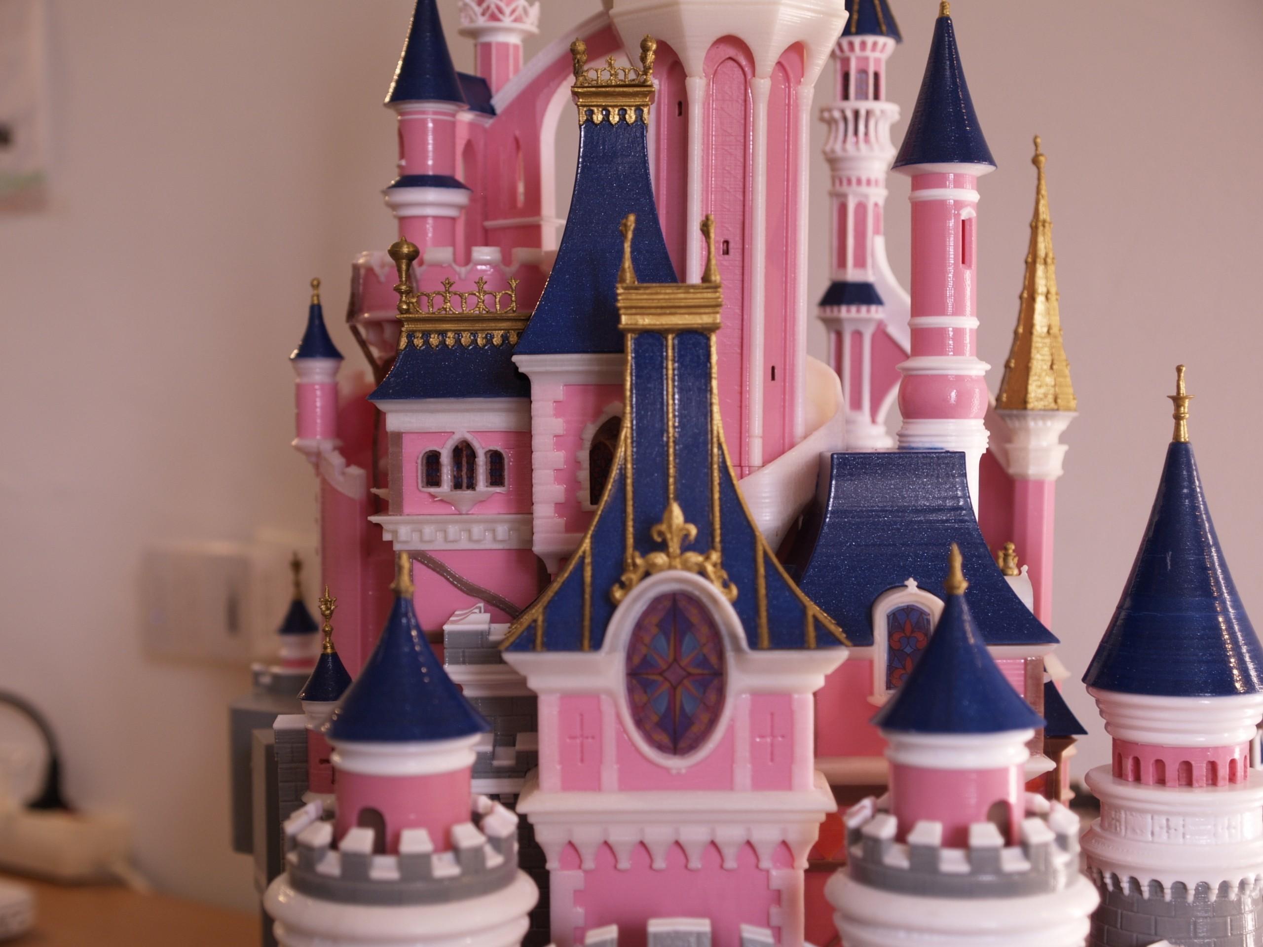_A097913.JPG Download free STL file Chateau Disneyland Paris with Prusa MK2S MMU (Ed2) • 3D print model, Rio31