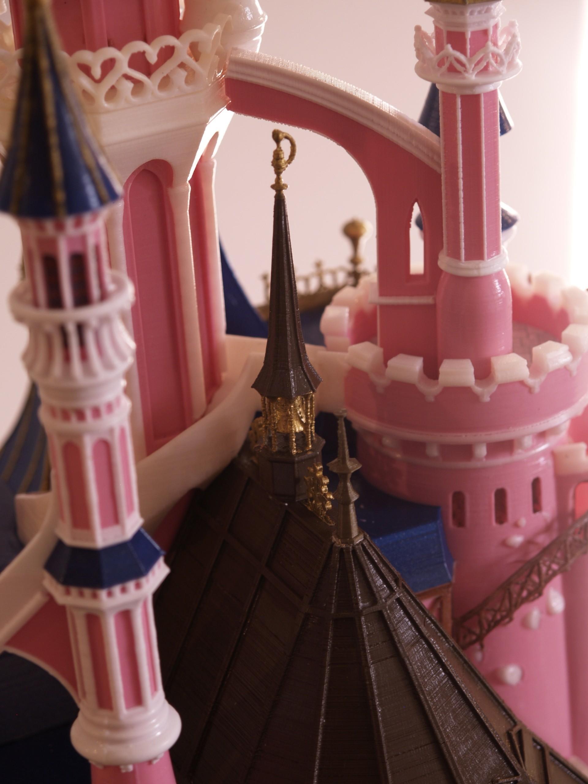 _A097909.JPG Download free STL file Chateau Disneyland Paris with Prusa MK2S MMU (Ed2) • 3D print model, Rio31
