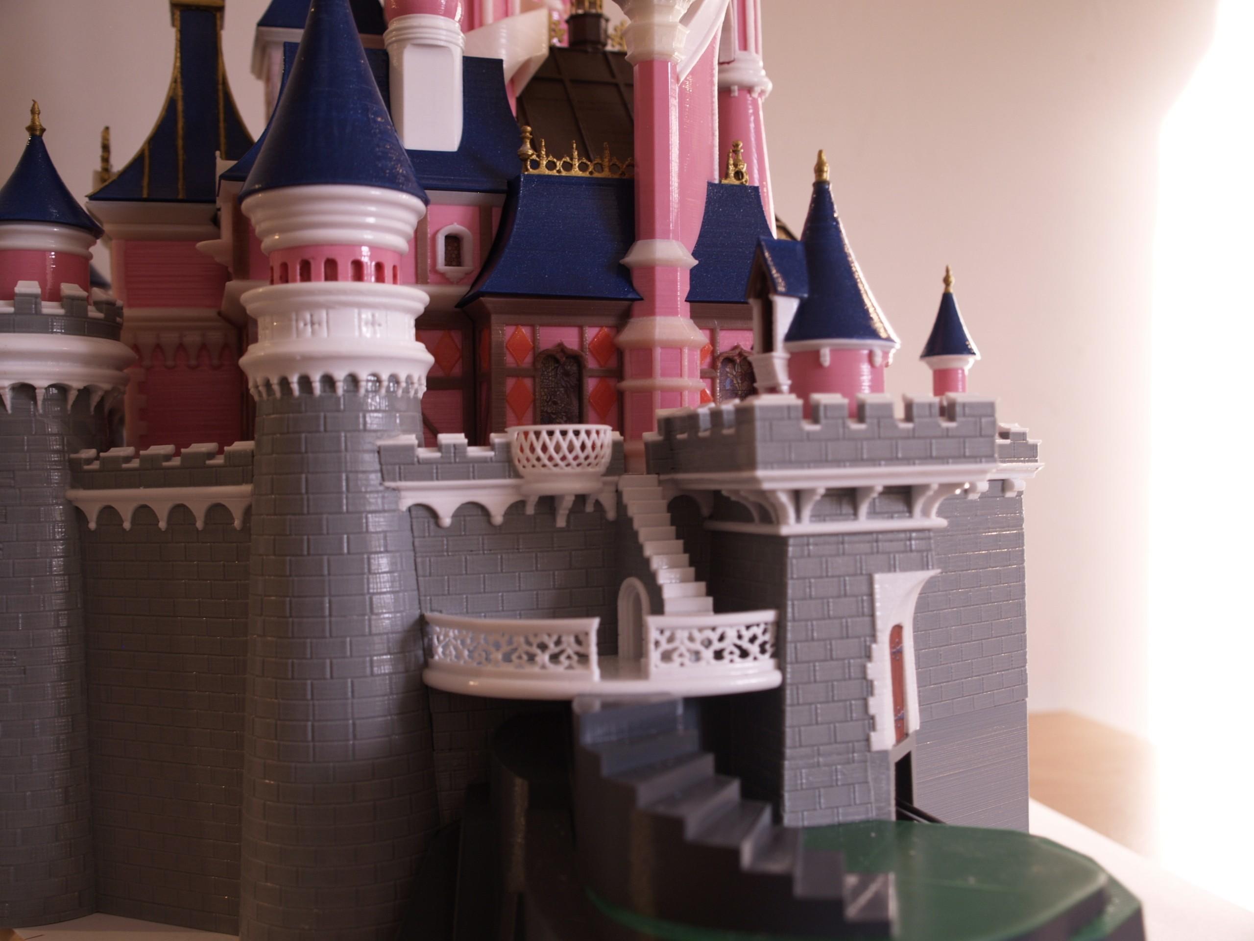 _A097918.JPG Download free STL file Chateau Disneyland Paris with Prusa MK2S MMU (Ed2) • 3D print model, Rio31
