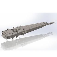 Download 3D printer templates Spacecraft No. 2, Rio31