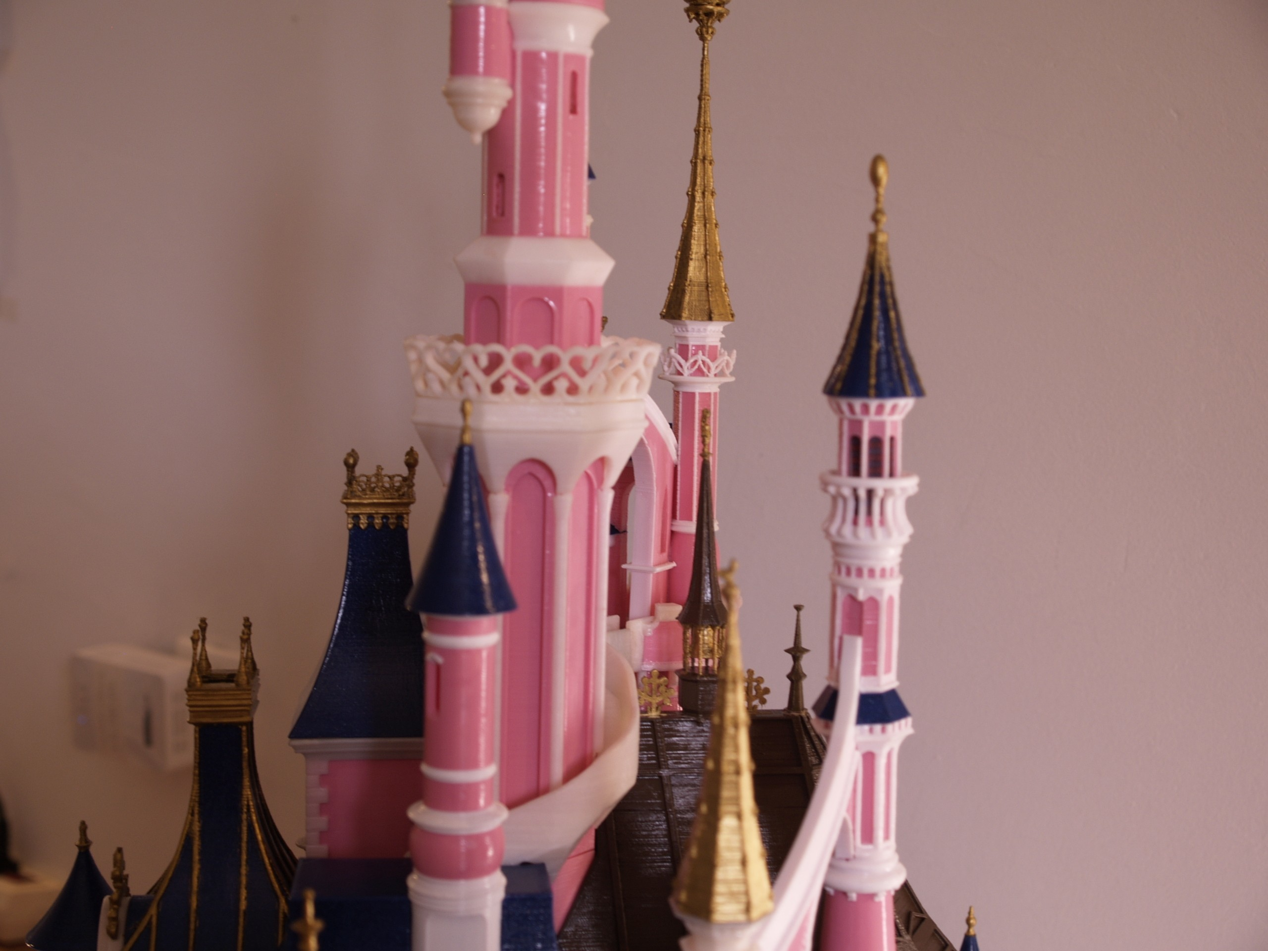 _A097915.JPG Download free STL file Chateau Disneyland Paris with Prusa MK2S MMU (Ed2) • 3D print model, Rio31