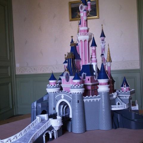 _3058319.JPG Download free STL file Chateau Disneyland Paris with Prusa MK2S MMU (Ed2) • 3D print model, Rio31