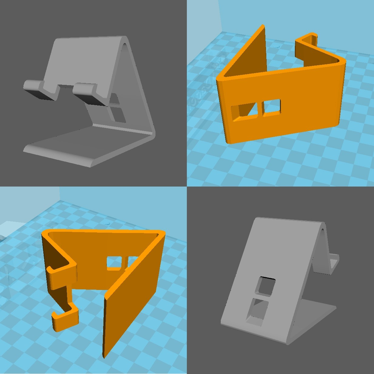 support_phone_haut2.jpg Download free OBJ file Support for smartphone • 3D print design, edgehug