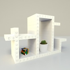 Free 3D print files Furniture puzzle, edgehug
