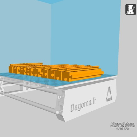 model5.jpg Download free OBJ file Furniture puzzle • 3D printable object, edgehug