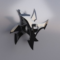 shuriken1.jpg Download free OBJ file shuriken • 3D printable template, edgehug