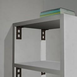 Télécharger objet 3D gratuit Equerre fixation étagère, edgehug