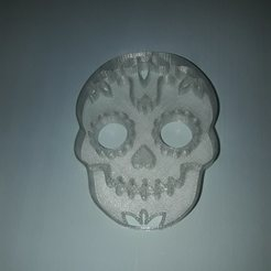 Coco Calavera2.jpg Download STL file Cookie cutter Coconut skull • 3D printing design, Chapu