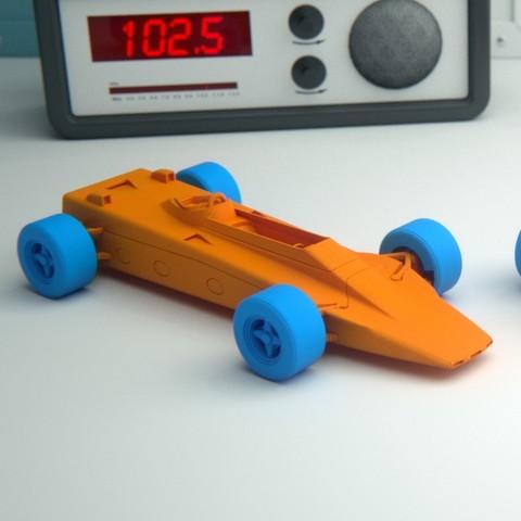 Free 3D printer files Lotus 56B Turbine Formula 1, guaro3d