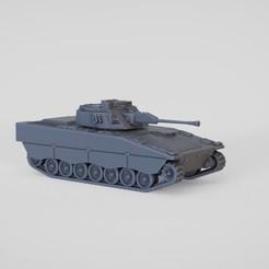Sneca maquetas 1.44.jpg Download STL file Combat Vehicle 90 CV90 Sw Stridsfordon 90 Strf90 IFV • 3D printable object, guaro3d