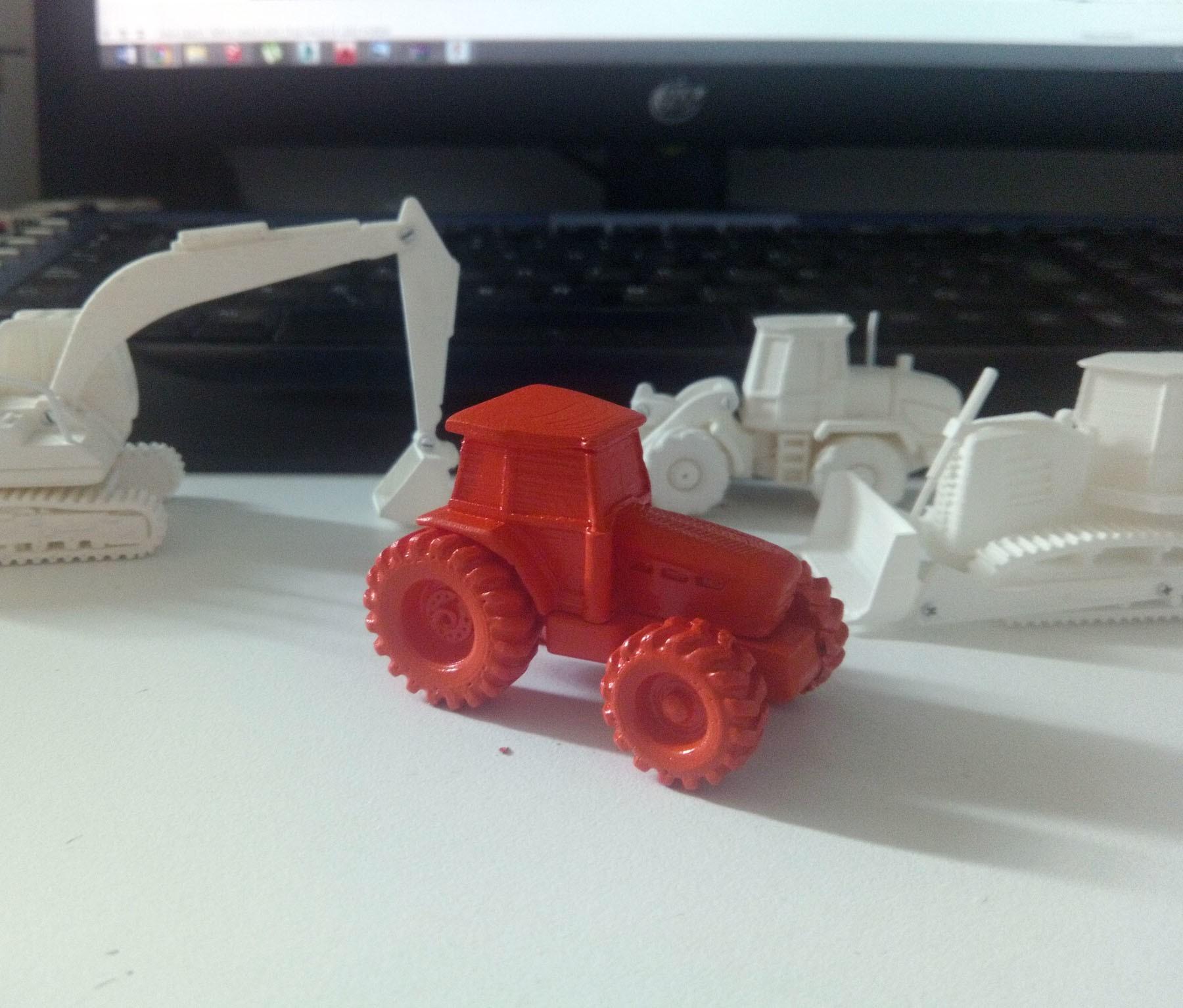 IMG_20170513_163338 p.jpg Download free STL file Easy to print Generic Tractor (esc: 1: 100) • 3D printing template, guaro3d