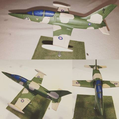 Free STL files Easy to print Aero L-39 Albatros aircraft scale model, guaro3d