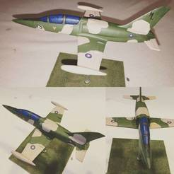 Descargar archivo 3D gratis Easy to print Aero L-39 Albatros aircraft scale model, guaro3d