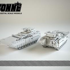 """Imprimir en 3D T-15 Armata """"Objeto 149"""" IFV ruso, guaro3d"""