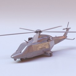 Descargar archivo STL Helicóptero Agusta Westland AW139 Modelo a escala 1:64 • Modelo para la impresión en 3D, guaro3d