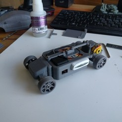 Download free 3D printing models OpenZ v16c Chassis (1:28 3d printed RC), guaro3d