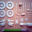 Download free 3D printing files Moto Cafe Racer scalemodel, guaro3d