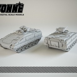 Télécharger fichier 3D Véhicule militaire Marder 1A3 (IFV), guaro3d