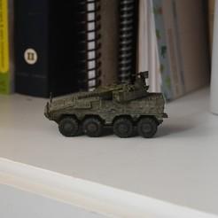 Descargar archivo STL Boxer IFV Vehículo militar 8x8 • Diseño para la impresora 3D, guaro3d