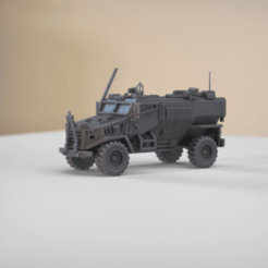 resin Models scene 2.361.png Download STL file Ocelot Foxhound IFV 1:64 Scale Model • Model to 3D print, guaro3d