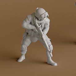 3D printer files Soldier 2, guaro3d