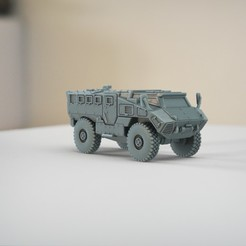 resin Models scene 2.454.jpg Download STL file RG35 4x4 MIlitary Vehicle • 3D printing template, guaro3d