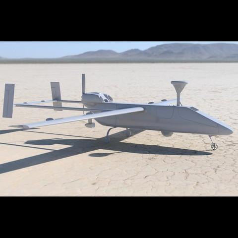 Download STL file Drone Searcher MK2 J • Design to 3D print, guaro3d